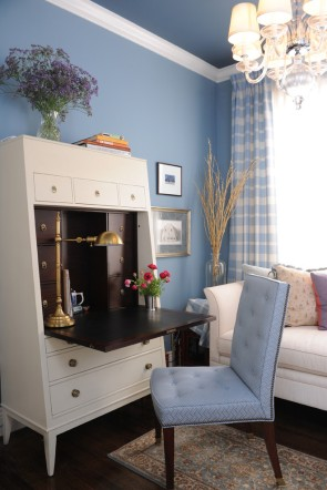 Prepossessing-Home-Office-Traditional-design-ideas-for-Brown-And-Blue-Walls-Image-Decor