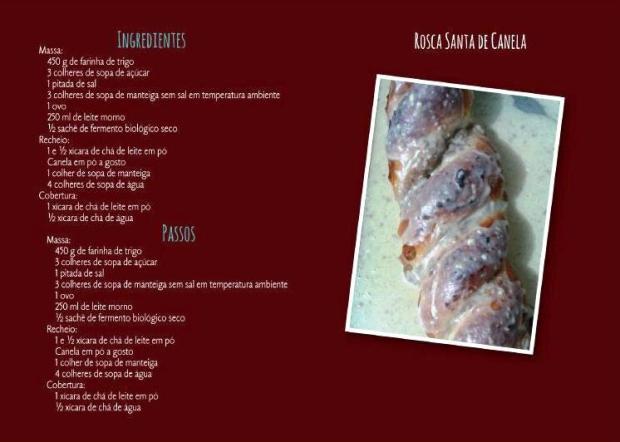 Rosca Santa de Canela