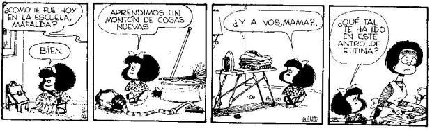 tira Mafalda