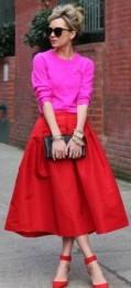 looks-vermelho-e-rosa-saia